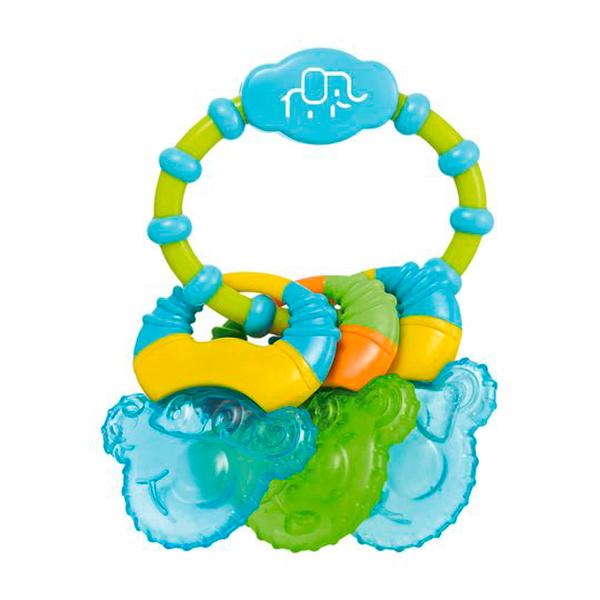 Mordedor com Água Cool Rings (Azul) - Multikids Baby