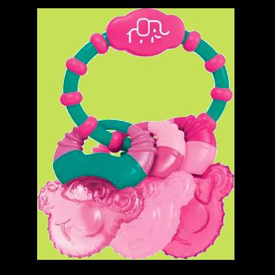 Mordedor com Água Cool Rings (Rosa) - Multikids Baby