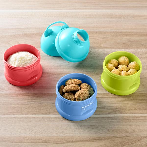 Porta Snacks e Dosador de Leite em Pó Funny Meal - Multikids Baby
