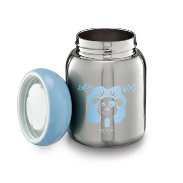 Pote Térmico para Papinha Keep It Cool 220ml (Azul) - Multikids Baby