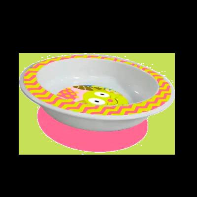 Prato Raso com Centosa Funny Meal (Menina) - Multikids baby