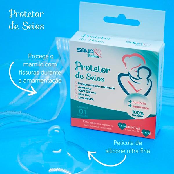 Protetor de Seios - Sana Babies