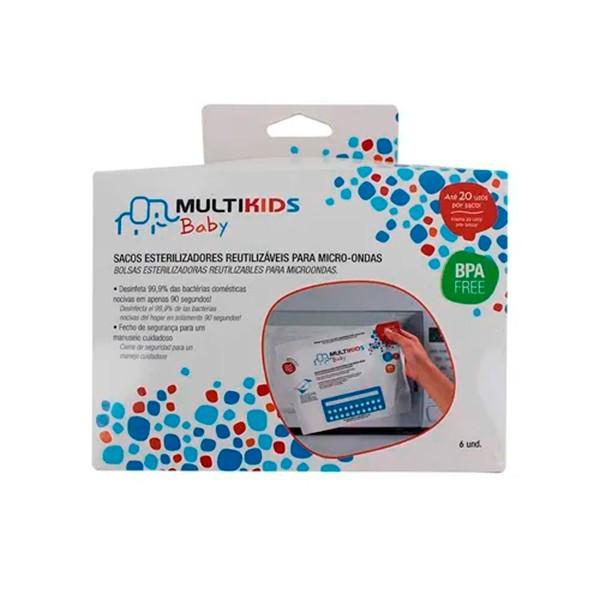 Saquinhos para Esterilizar no Micro-ondas - Multikids Baby