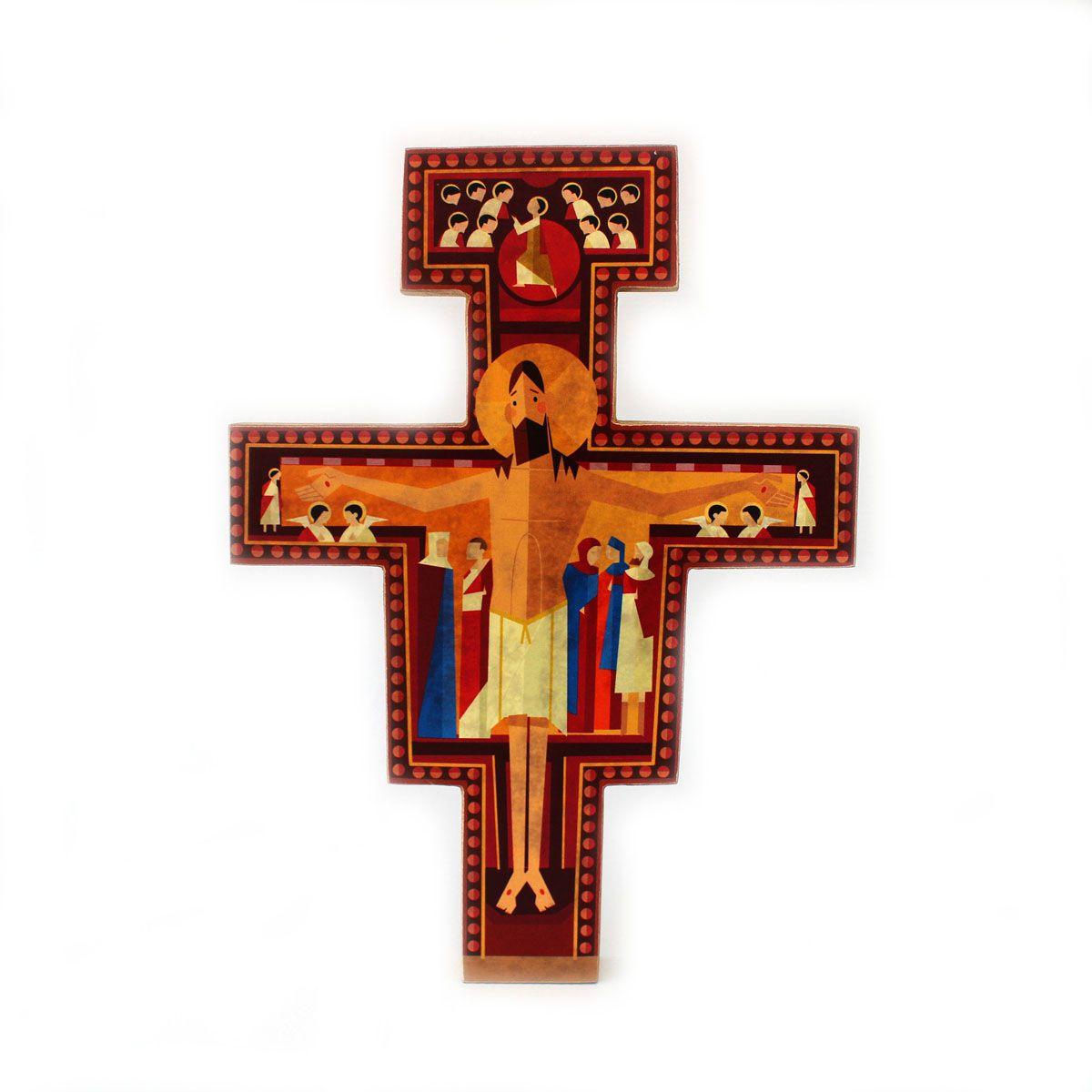 Cruz de São Damião O Pequeno Francisco  - O Pequeno Francisco