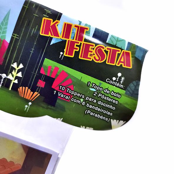 Kit Festa O Pequeno Francisco – Modelo Simples 'O Pequeno Francisco'   - O Pequeno Francisco