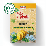 Combo Tereré - Téres Premium - Abacaxi e Menta - Composta de Erva Mate - 10 Und