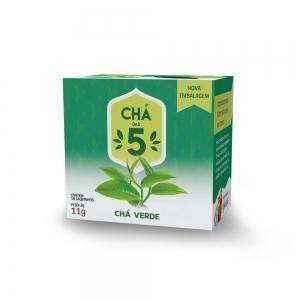Chá das 5 - Chá Verde - Mate Laranjeiras 11g