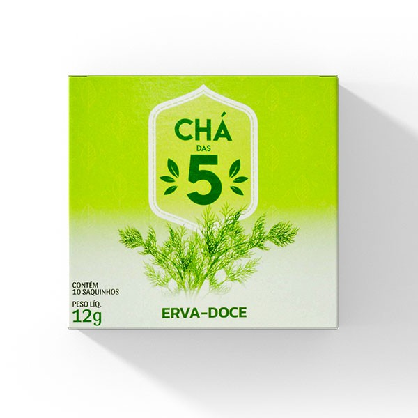 Chá das 5 - Erva Doce - Mate Laranjeiras