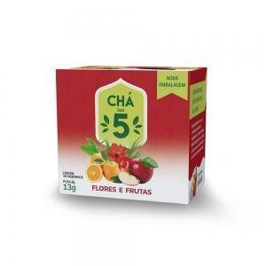 Chá das 5 - Flores e Frutas - Mate Laranjeiras 13g