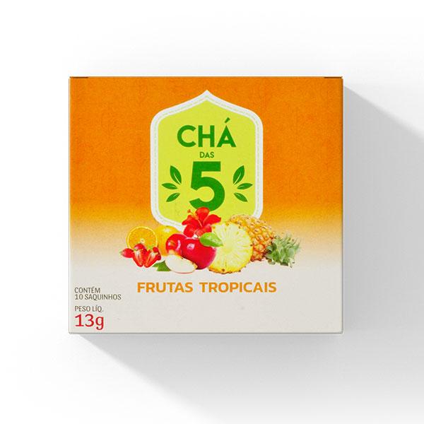 Chá das 5 - Frutas Tropicais - Mate Laranjeiras 13g