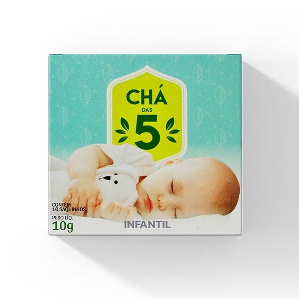 Chá das 5 - Infantil - Mate Laranjeiras