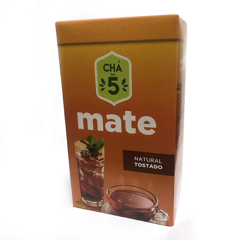 Chá das 5 - Tostado Natural - Mate Laranjeiras