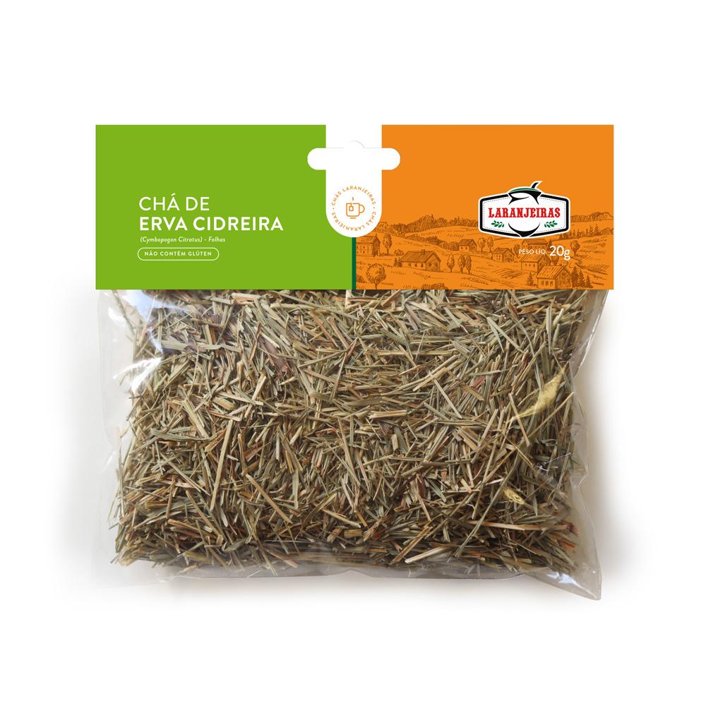 Chá de Erva Cidreira - 20 g - Mate Laranjeiras