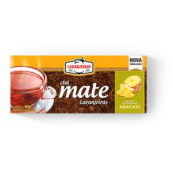 Chá Mate Laranjeiras - Abacaxi - 40g