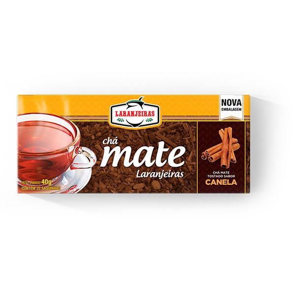 Chá Mate Laranjeiras - Canela - 40g