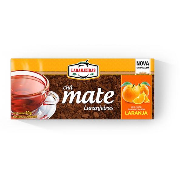 Chá Mate Laranjeiras - Laranja - 40g
