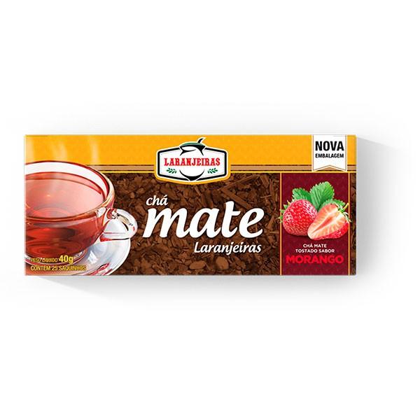 Chá Mate Laranjeiras - Morango - 40g