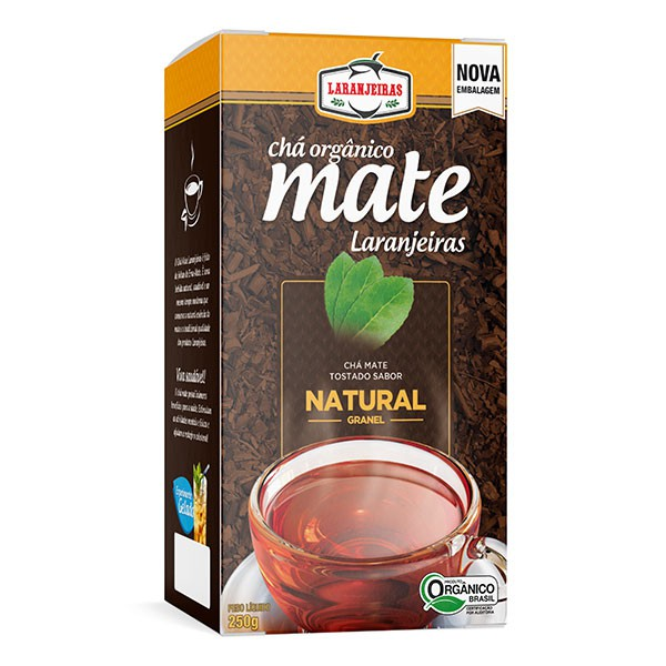 Chá Mate Laranjeiras - Natural - Granel