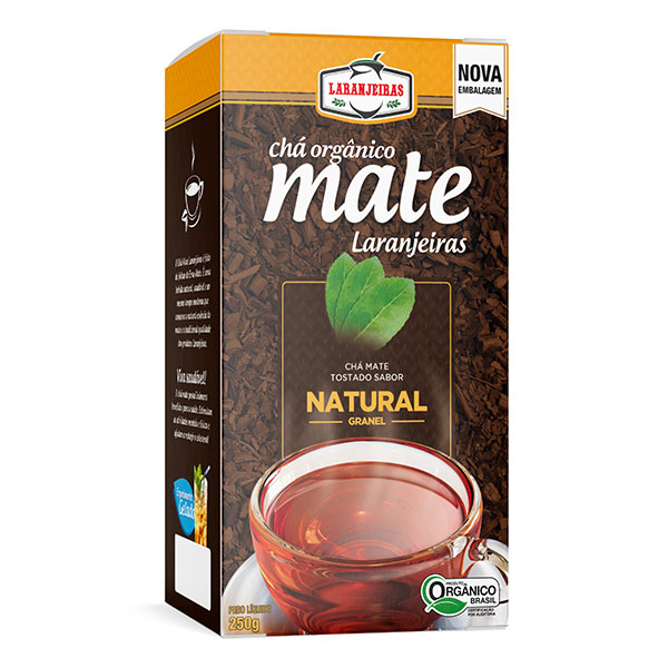 Chá Mate Laranjeiras - Natural - Granel 250g