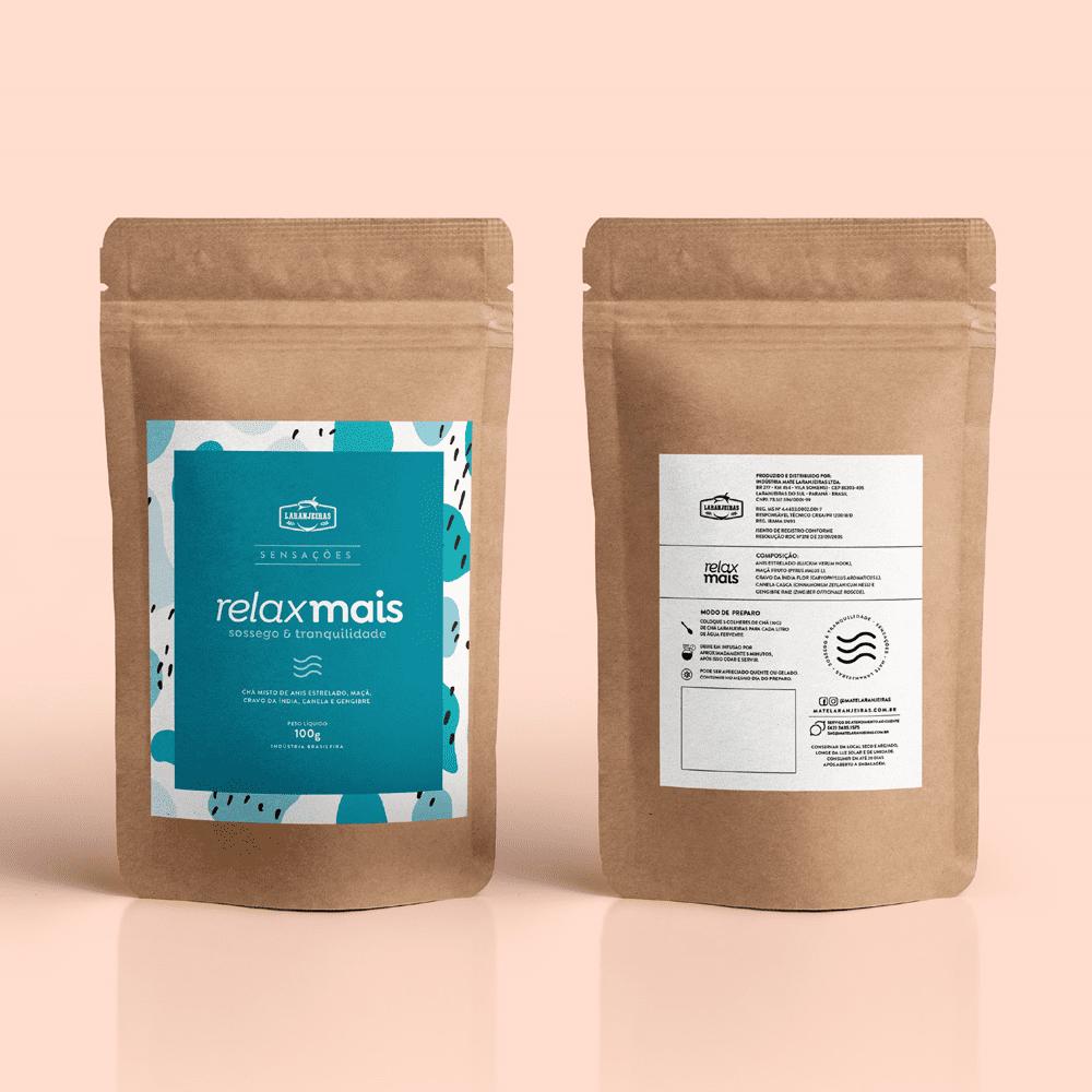 Chá Sensações Laranjeiras - RelaxMais - 100g