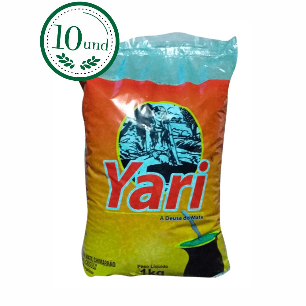 Combo Chimarrão Yari Crioulo Mate Laranjeiras 1k - 10 Und