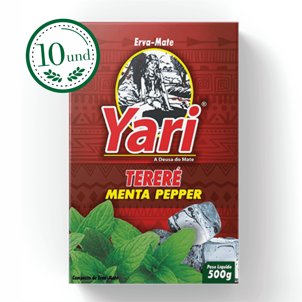 Combo Tereré Menta Pepper - Yari - 10 Und