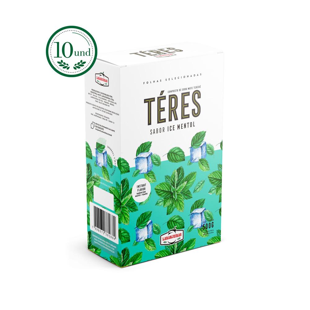 Combo Tereré - Téres Premium - Ice Mentol - Extra-Forte - Composta de Erva Mate - 10 Und