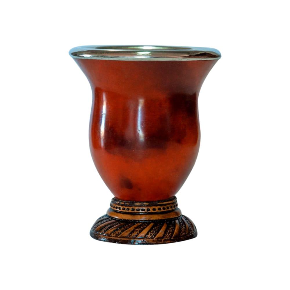 Cuia Inox/Madeira - Mate Laranjeiras