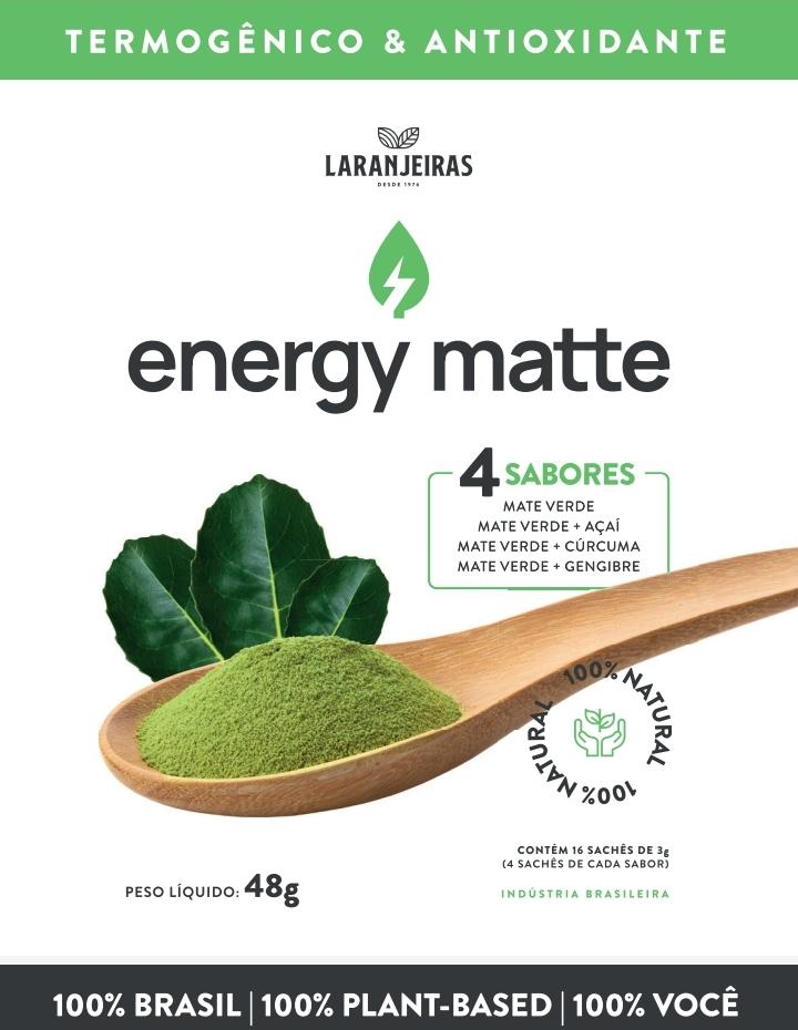 Energy Matte 16 sachês