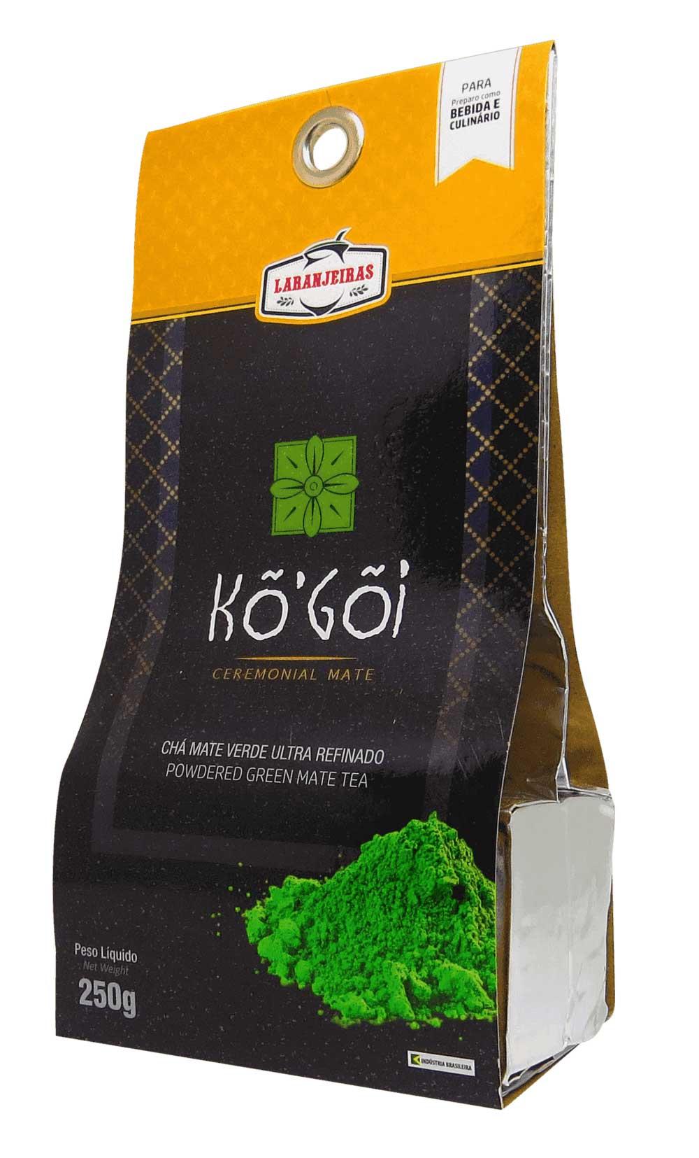 KÔ'GÕI Ceremonial Mate - Chá Mate Verde Ultra Refinado - 250g