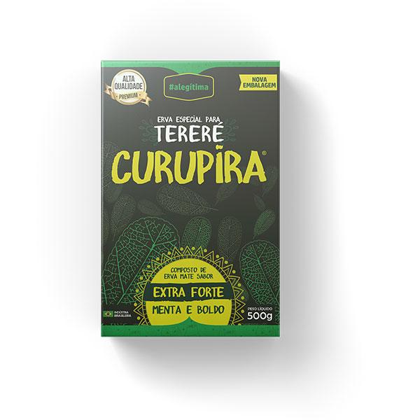 Tereré - Menta e Boldo - Extra Forte - Erva Especial Curupira - 500g