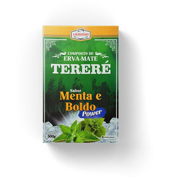 Tereré - Menta e Boldo - Power - Composta de Erva Mate - 500g - Mate Laranjeiras