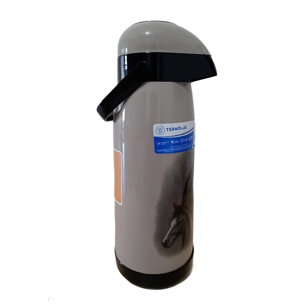 Termolar garrafa térmica Pressão Magic Pump 1.8l