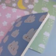 Caderno Brochura Nuvenzinhas