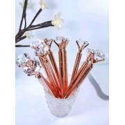 Caneta Diamante Rose Gold
