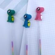 Caneta Multicolor Dino