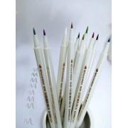 kit 10 Brush Pen Metalic STA