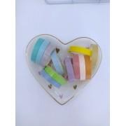 Kit 12 Washi Tape coloridas