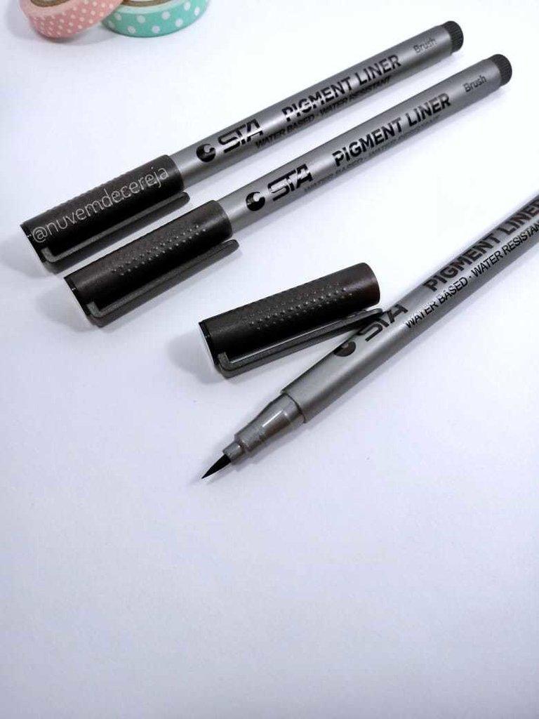 Brush Pen STA  - Nuvem de Cereja