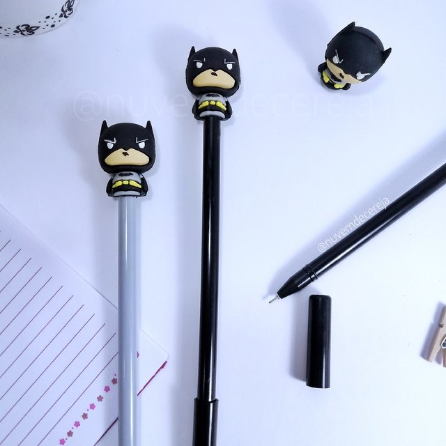 Caneta Batman  - Nuvem de Cereja