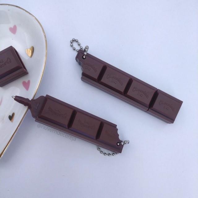 Caneta Delicia Chocolate  - Nuvem de Cereja