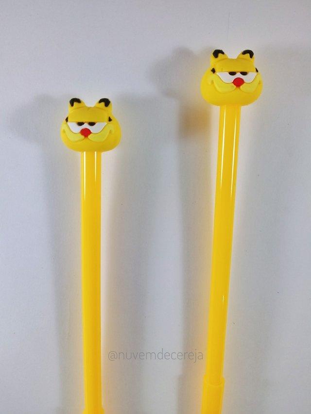Caneta Garfield  - Nuvem de Cereja