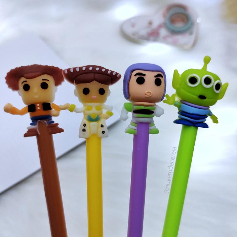 Caneta Kit Toy Story Com 4  - Nuvem de Cereja