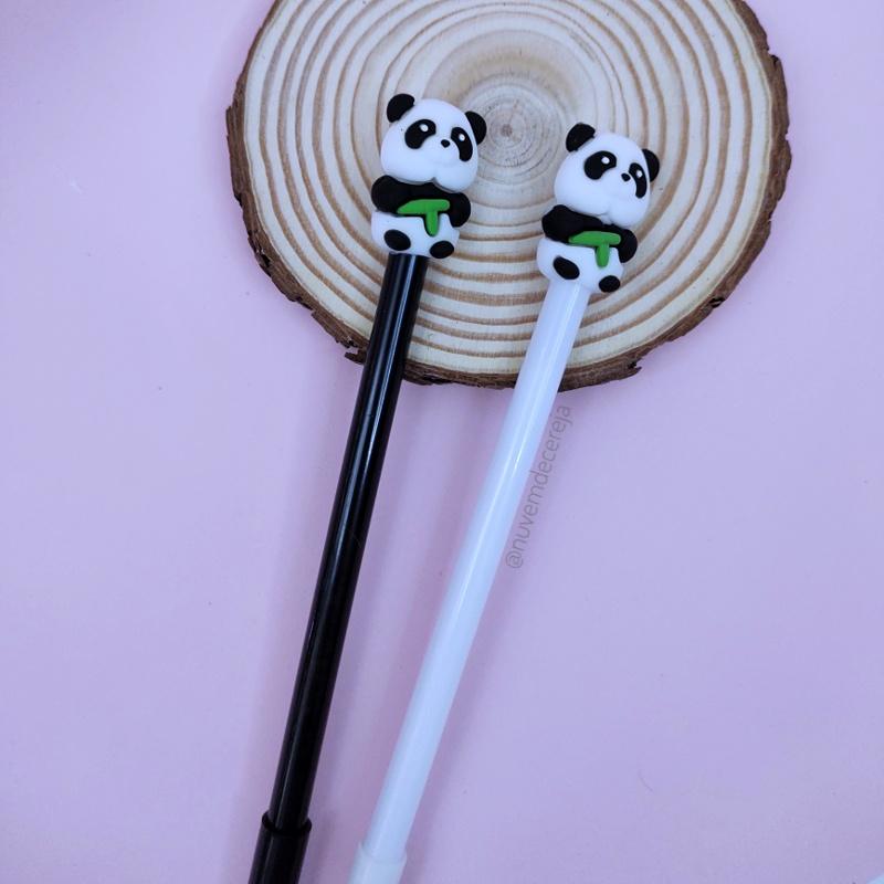 Caneta Panda Natureza  - Nuvem de Cereja