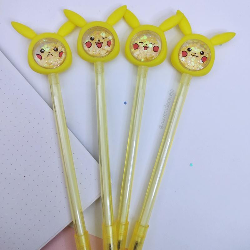 Caneta Pikachu  - Nuvem de Cereja
