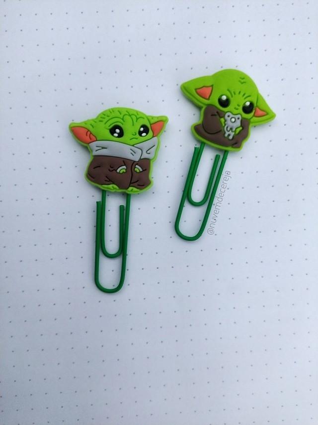 Clips Baby Yoda  - Nuvem de Cereja