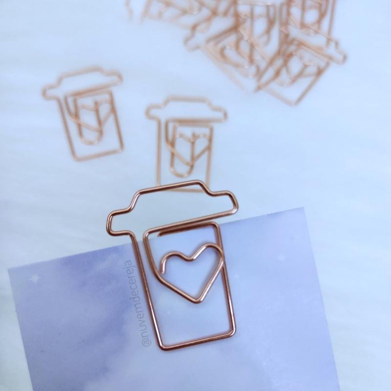 Clips Café Love Rose  - Nuvem de Cereja