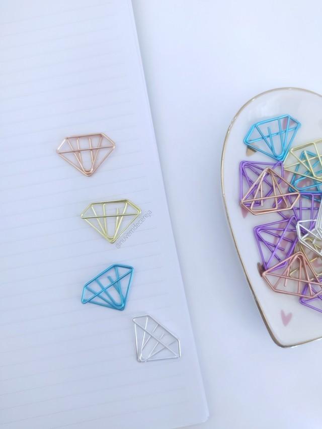 Clips Diamante  - Nuvem de Cereja