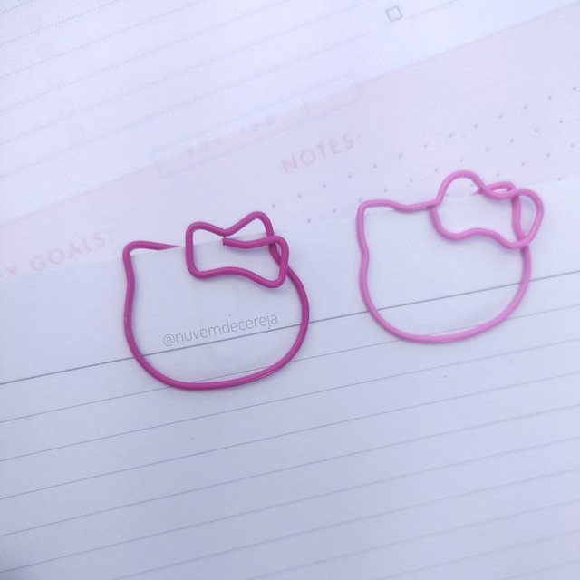 Clips Hello Kitty  - Nuvem de Cereja