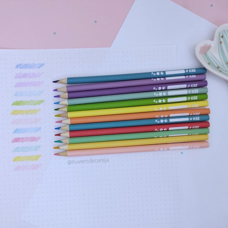 Lápis de Cor Pastel Zoo   - Nuvem de Cereja
